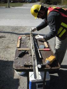 Soil sampling environmental geophysical drilling for 0200 soil core sampler